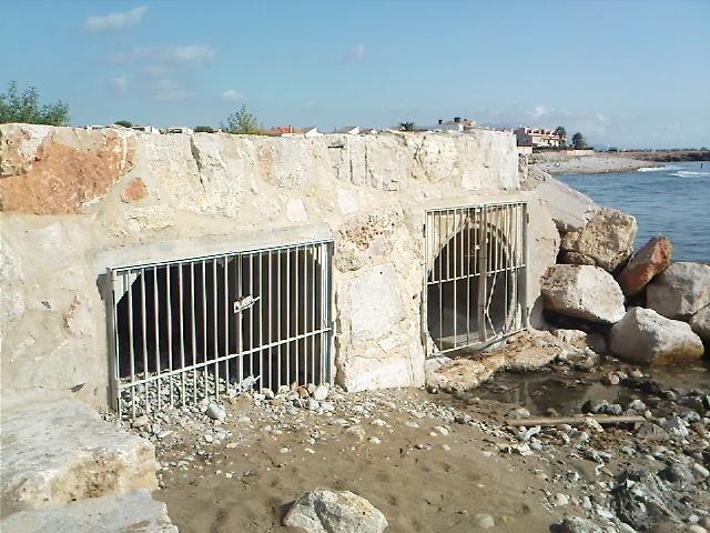 La pluja diuen que purifica, a Vinaròs emmerda la platja  (2)