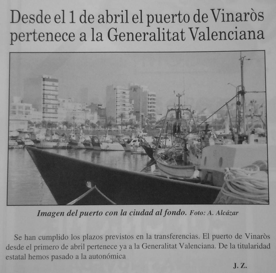Port  de  Castelló, creix