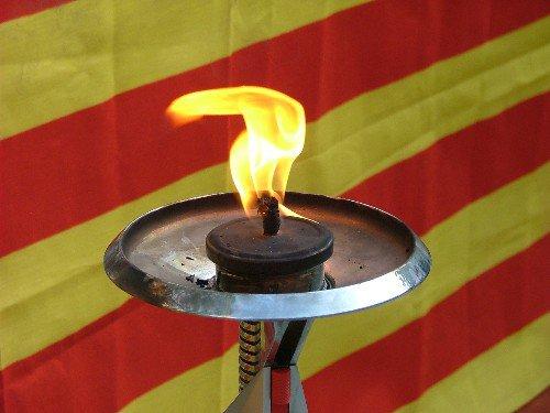 Per la nostra llengua, Visca la Flama del Canigó!!!