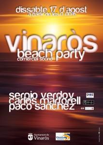 Cartel Vinar+s beach1