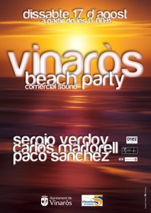 Cartel Vinar+s beach1