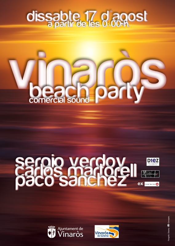 Vinaròs,Beach Party (en iber)