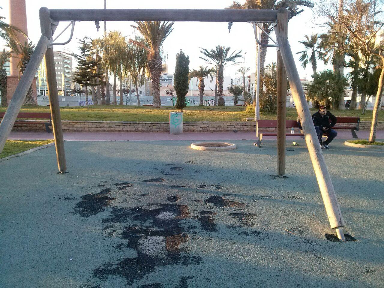 Parc infantils de la Plaça del Llangostí