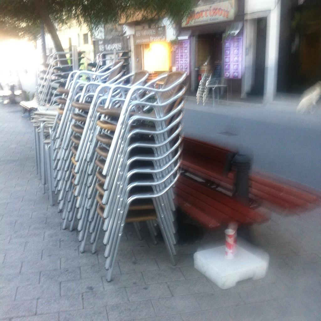 La plaça «sin ley»