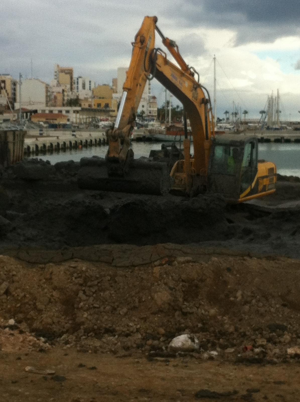 Cronologia del fangs del port denunciats per Migjorn