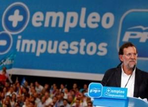 Más-empleo-menos-impuestos-Rajoy