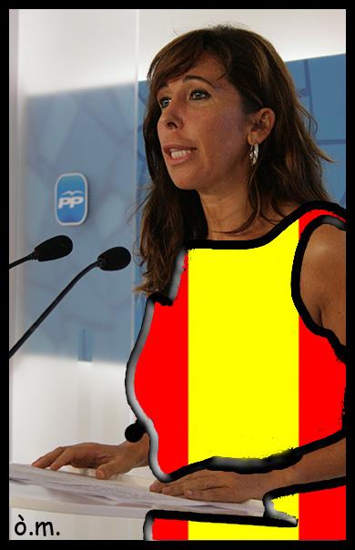 Alicia  Sanchez  Camacho, La lider català del PP