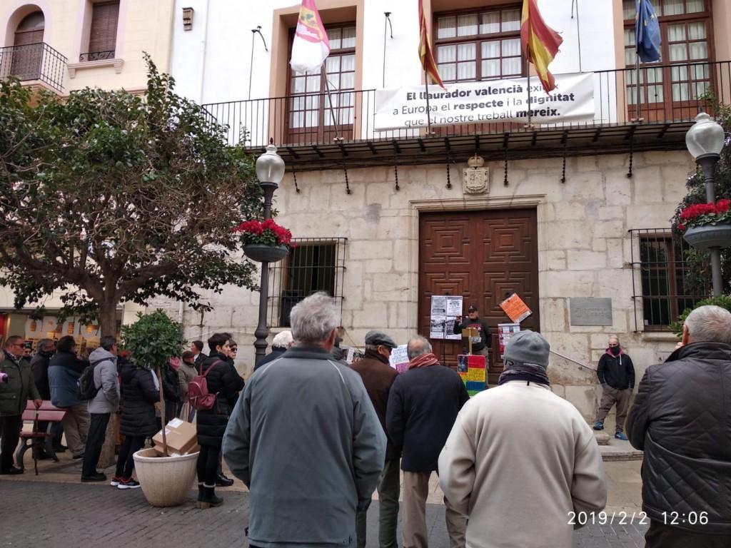 CONCENTRACIÓ DE JUBILATS I PENSIONISTES