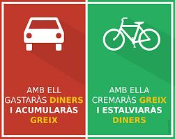Pàrquings públics, publicitat i senyalització. La mitja hora gratuïta i el pla integral ciclista, JA!.