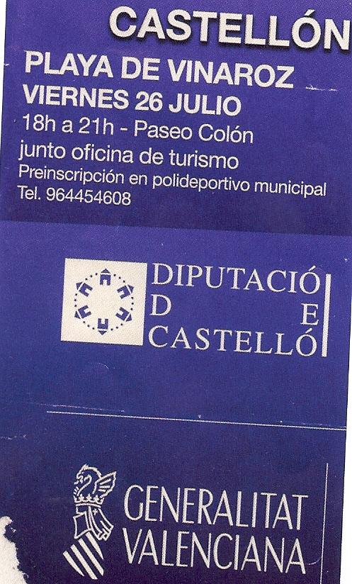 Campanya de la Diputació ( fora) i de la Generalitat (castellanitzada)