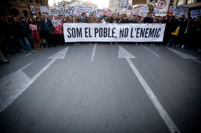 PARTIDO POPULAR DE VINARÒS CONTRA ELS VEÏNS DE LA COMARCA, SOM EL POBLE NO L'ENEMIC